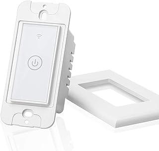 meross Smart Light Switch Wi-Fi Wall Switch, Works with Alexa, Google Home