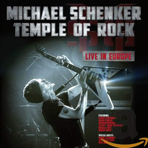 Temple Of Rock: Live In Europe (2 CD)