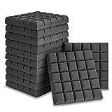 12 Pack Set 2' X 12' X 12' Acoustic Foam Panels, Bread 5 Block Tiles,...