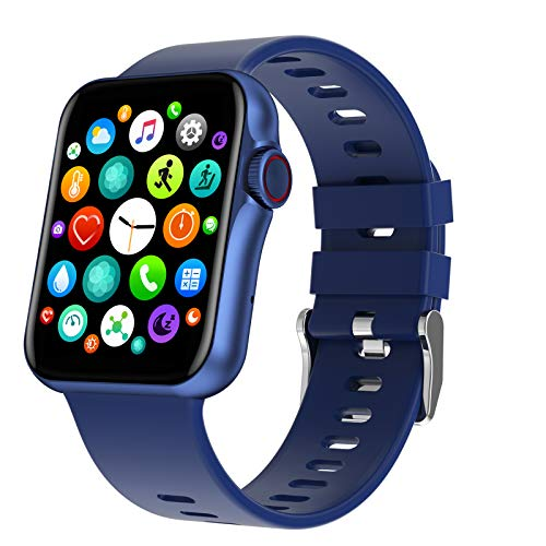 N \ A Relojes Inteligentes para Hombres y Mujeres, Relojes Inteligentes Bluetooth con Pantalla táctil de 1.6', IP67 a Prueba de Agua, Reloj con Monitor de sueño, Reloj para teléfonos Android e iOS
