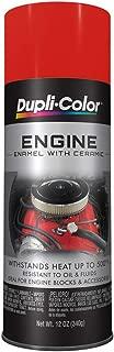 Dupli-Color DE1620 Ceramic Chevrolet Orange Engine Paint - 12 oz.