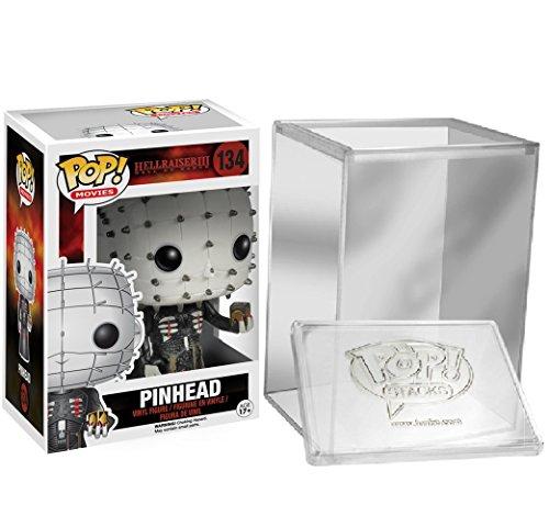 Funko Pop Horror Movies Hellraiser- Pinhead Vinyl Figure + FUNKO PROTECTIVE CASE