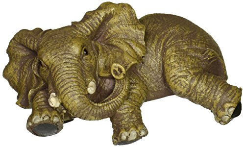 Design Toscano Ernie the Elephant Shelf Sitter Sculpture