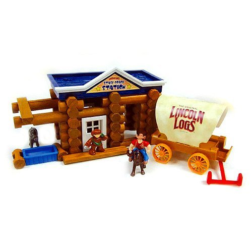 KNEX Lincoln Logs Stage Coach...