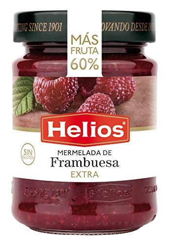 Helios - Mermelada de Frambuesa Extra, 340 gr
