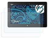 Bruni Schutzfolie kompatibel mit Asus VivoTab Smart ME400C Folie, glasklare Bildschirmschutzfolie (2X)
