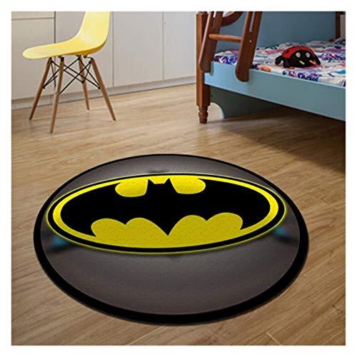 Children Bedroom Round Batman Rugs