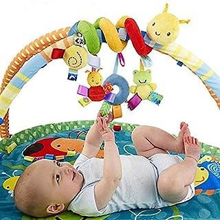 TZOU Baby Toy Newborn Music Bed Hanging Pendant Soft Cloth Plush Kid Baby Crib Cot Pram Hanging Rattles Spiral Stroller&Ca...