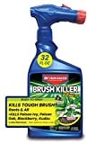 BioAdvanced 704645A Brush Killer Plus, Poison Ivy Killer and Stump Remover, 32-Ounce, Ready-to-Spray