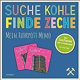 Emons Verlag Suche Kohle - Finde Zeche. Mein Ruhrpott Memo: Memory mit 30 liebevoll gestalteten Motiven