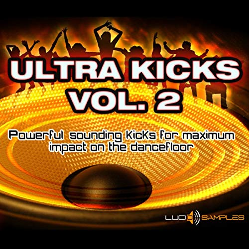 Ultra Kicks Vol. 2 - Kick Samples for House, Dance, Techno Tracks | WAV (24bit) + REX2 Loops | Download