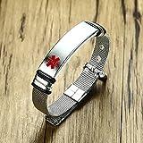 ShSnnwrl Estilo clásico Pulsera Personalizarpara Hombres Mujeres Reloj Ajustable Br-522