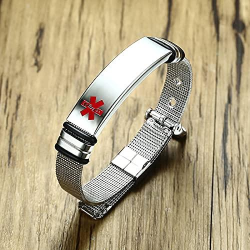 ShFhhwrl Pulsera Personalizarpara Hombres Mujeres Reloj Ajustable Br-522