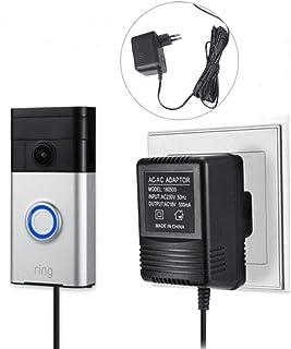 Adattatore di alimentazione e cavo 5 m, adattatore di rete, accessorio Smart Home compatibile per campanello Door Bell 2 Pro