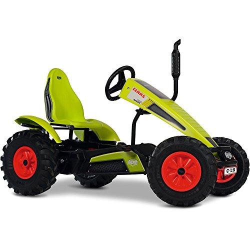 BERG Gokart mit XL-frame CLAAS mit Dreigangschaltung   Kinderfahrzeug , Tretauto mit verstellbarer Sitz, Mit Freilauf, Kinderspielzeug geeignet für Kinder im Alter ab 5 Jahren
