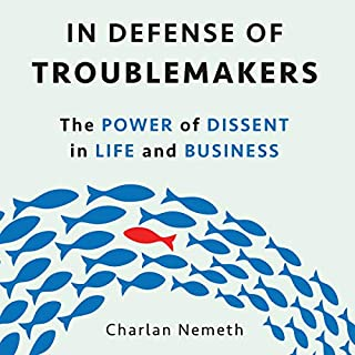 In Defense of Troublemakers     The Power of Dissent in Life and Business              De :                                                                                                                                 Charlan Nemeth                               Lu par :                                                                                                                                 Joyce Bean                      Durée : 6 h et 2 min     Pas de notations     Global 0,0