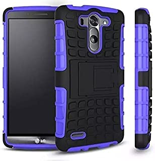 Cable And Case LG G4 Case, LG G4 Armor Cases- Tough Armorbox Dual Layer Hybrid Hard/Soft Protective Case, ArmorBox Purple- ArmorBox Purple