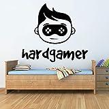 ASFGA Hard Player Wandaufkleber Schlafzimmer Spielbereich