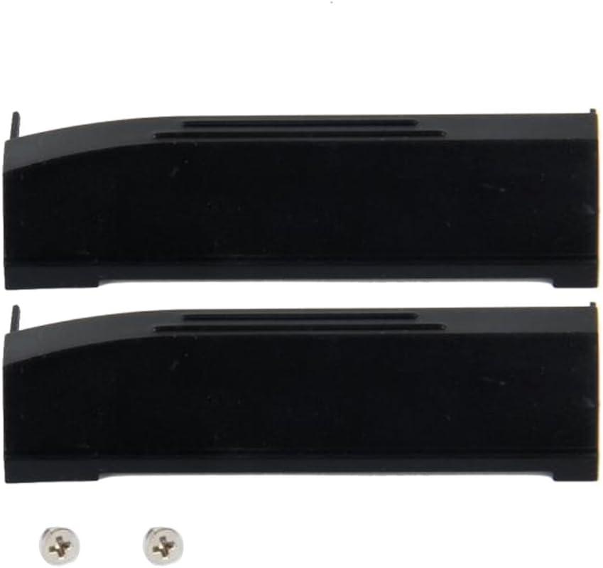 Baosity 2Set Hard Drive HDD Caddy Cover for DELL Latitude E6400 E6410 Precision
