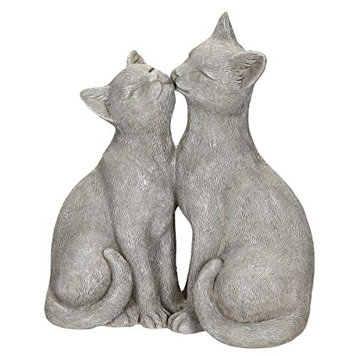 /N softwarego 71013 - Par de gatos (22 cm), color gris