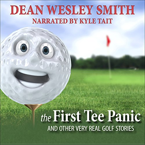 The First Tee Panic audiobook cover art