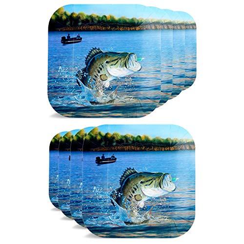 Gone Fishin' Dinner Plates (9