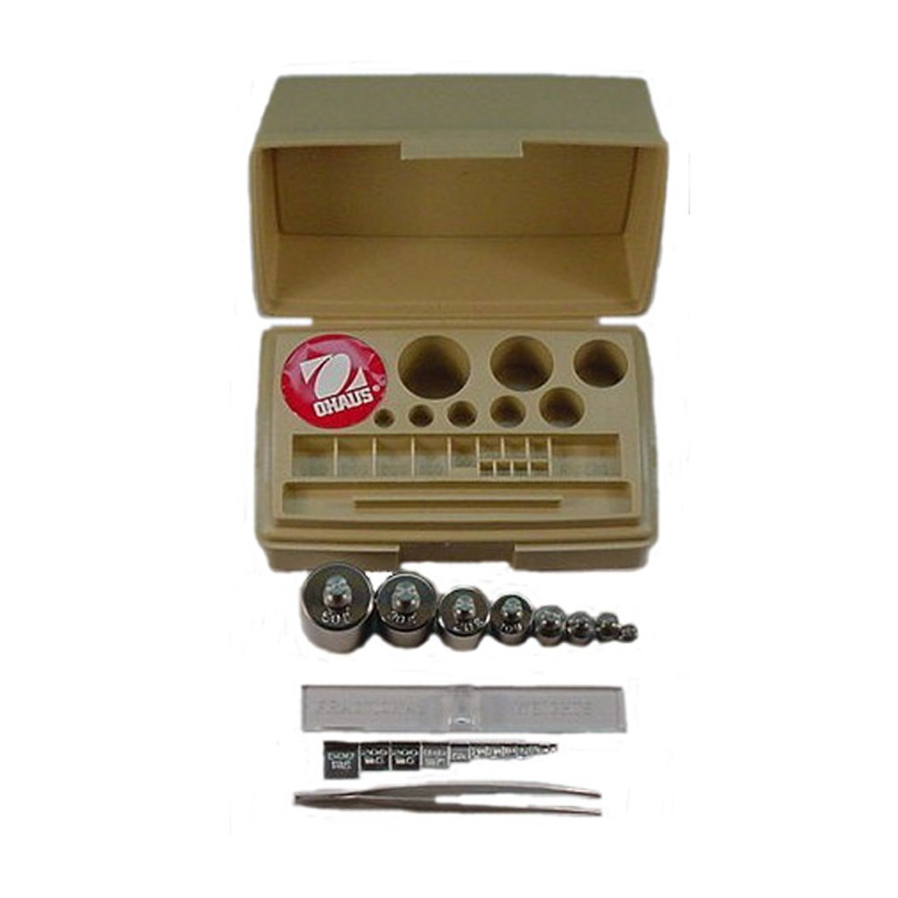 Nippon regular agency Ohaus Stainless Arlington Mall Steel 20 Piece ASTM S Calibration 4 Class Weight