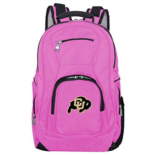 %63 OFF! NCAA Colorado Buffaloes Voyager Laptop Backpack, 19-inches, Pink