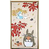 のれん となりのトトロ ロングサイズ 85 × 150 cm 四季折々シリーズ (3. 実りの秋)