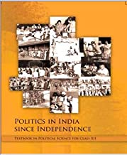 Politics in India since Independence Textbook in Political Science for Class - 12  - 12119