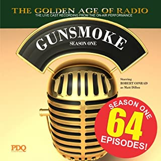Gunsmoke, Season 1 audiobook cover art