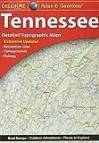 Garmin Delorme Atlas & Gazetteer Paper Maps- Tennessee (010-12665-00)