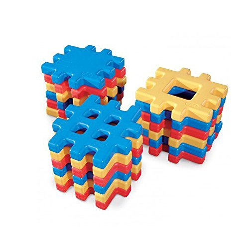 Little Tikes Big Waffle Block Set  18 pieces