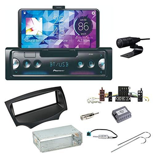 Pioneer SPH-10BT Bluetooth Autoradio USB AUX MP3 FLAC AAC WAV Einbauset für Ford KA RU8