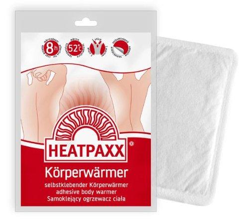 HeatPaxx 10 Bodywärmer Wärmepad für 8 Std. Aktivkohle