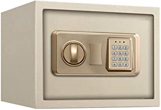 Small Digital Safe, Steel Construction Safes Safety Electronic Lock LCD Display Digital Keyboard Key Safe 43.5 * 37 * 20cm