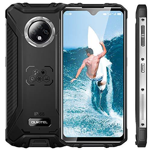 Oukitel WP8 PRO Rugged Smartphone in Offerta,Dual 4G Outdoor Smartphone Robusto,IP68 Impermeabile Antiurto Telefonia Cellulare,6.49inch HD+,Batteria 5000mah,4GB+64GB,Camera 16MP,NFC Android 10,Nero