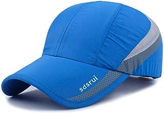 Outdoor Sun Visor Hats Lightweight Waterproof Breathable Sports Hat UPF50+ Ultra Thin Cooling Baseball Hats