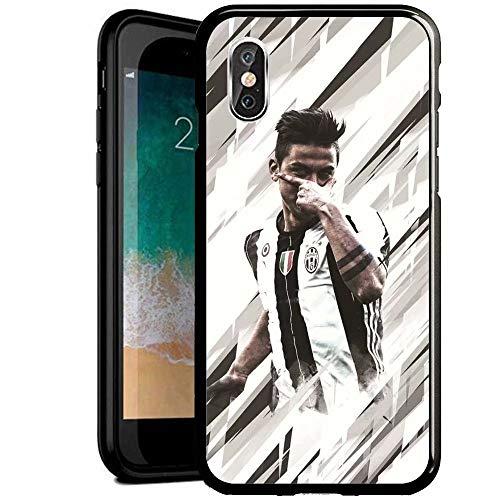 RY Funda para teléfono iPhone 7/iPhone 8,Prueba Golpes Resistente arañazos Negro Cristal Templado Carcasa telefono [BKG1700015]