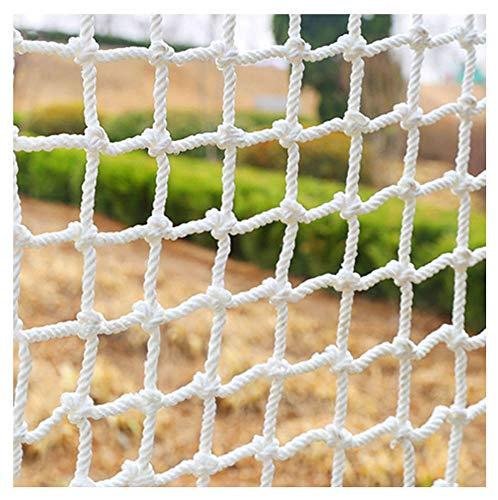 HWJ Sicherheitsnetz füR Kinder,Balkon-Netz Kinder Sicherungsnetz Schutznetz Dekor Netz Decorative Seilnetz Zaunnetz Nylon Gitter GepäCknetz Ladung-Netz Schutz-Netz füR Den AußEn-Bereich