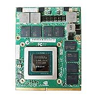 新しい4GB Graphics Card GPU Replacement、for Dell Precision M6700 M6800 7710 7720 HP EliteBook 8770W 8760Wモバイルワークステーションノートパソコン、NVIDIA Quadro M3000M GDDR5 N16E-Q1-A1修理部品