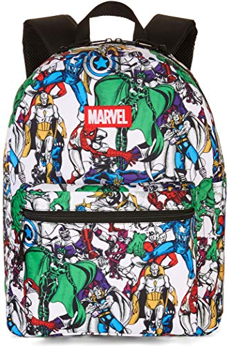 Bioworld Marvel Comics Print All-Over 16inch Backpack