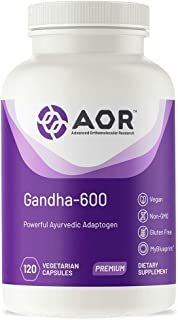 Gandha 600 (120 VeggieCaps) AOR04242 Brand: A.O.R Advanced Orthomolecular Research