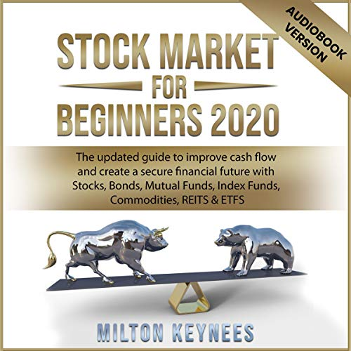 Stock Market for Beginners 2020 audiobook cover art