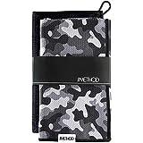 """Method Golf Towels - 2 Pack   Microfiber Waffle   Carabiner Clip   Super Absorbent   Metal Grommet   for Golf Bag   16""""x24""""   Multiple Designs"""