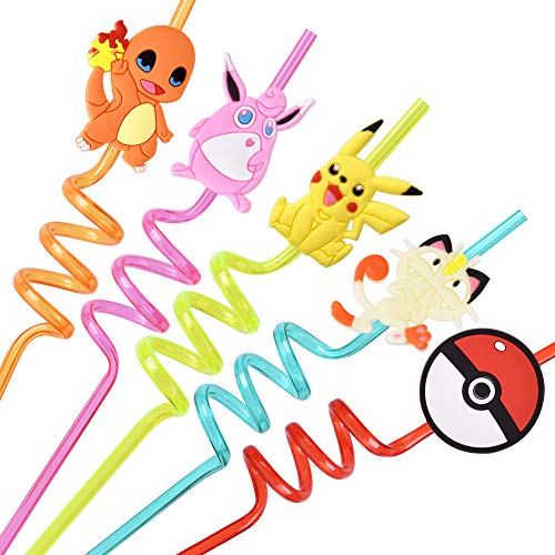 Great Features Of Party Supplies Drinking Plastic Straws Reusable For Baby Kids Birthday favors With...