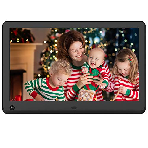 Atatat 11.6 inch Digital Picture Frame with 1920x1080 High Resolution, IPS Screen, Motion Sensor, Remote Control - Black Digital Frames Picture