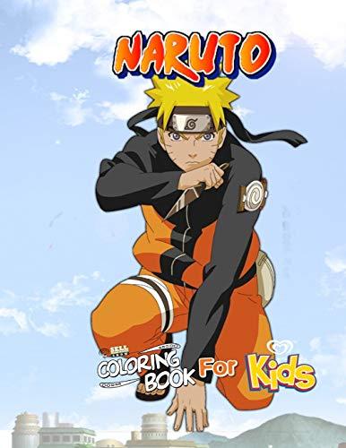 [画像:Naruto Coloring Book for Kids: Cartoons Quarantine Stress Relief Coloring Book with 60 Naruto  High-Quality Designs]