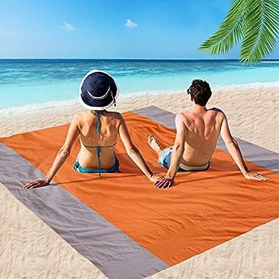 Amazon - 70% Off on Beach Blanket, Picnic Blankets Waterproof Sand Proof