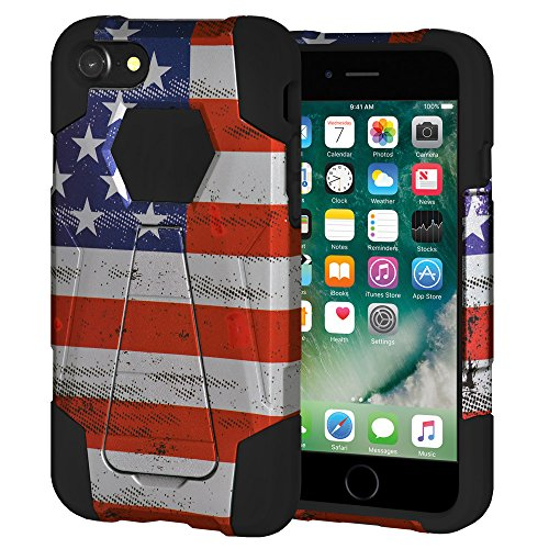 USA Amerikaanse vlag Grunge sterren strepen
